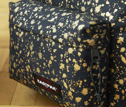 Eastpak with a touch of gold