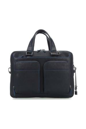 Piquadro Laptoptassen Portfolio Computer Briefcase with iPad 10.5/ 9.7 inch