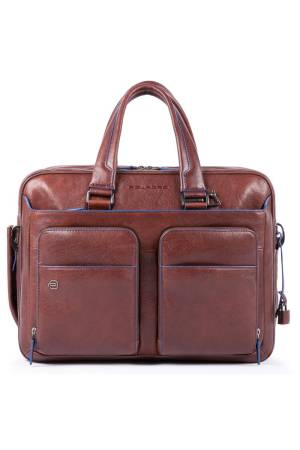 Piquadro Laptoptassen Expandable Computer Briefcase