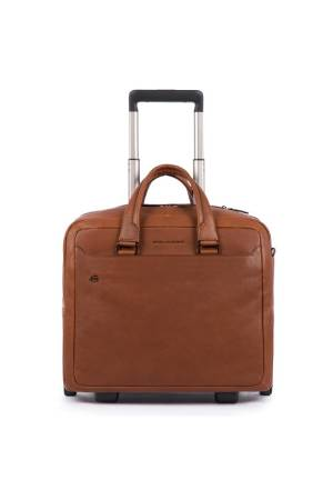 Piquadro Laptoptassen Wheeled Computer Briefcase with Ipad
