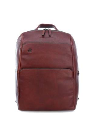 Piquadro Laptoptassen Zaino in Pelle 12.9 inch laptop/Ipad Backpack