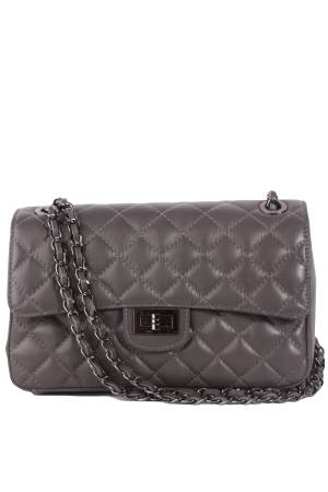 Florence Bags Damestas leder Little Quilted Bag L