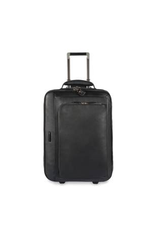 Piquadro Koffers Cabin Trolley With Double Notebo